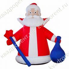 Надувная фигура Дед Мороз с посохом