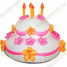 Надувной торт