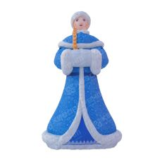 Надувная фигура Снегурочки аренда