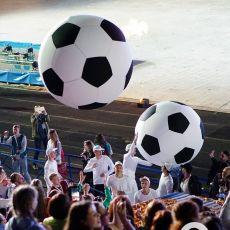 надувные футбольные мячи для игр