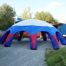 Пневмокаркасное сооружение шатер