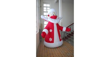 Новая пневмофигура Деда Мороза
