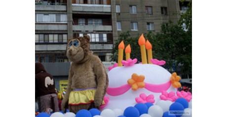 "Фото пневмофигуры ""торт"" с 427-летия города"