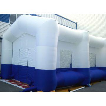 Надувной шатер белого цвета
