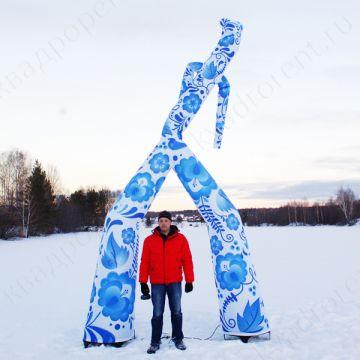 Аэромен Гжель