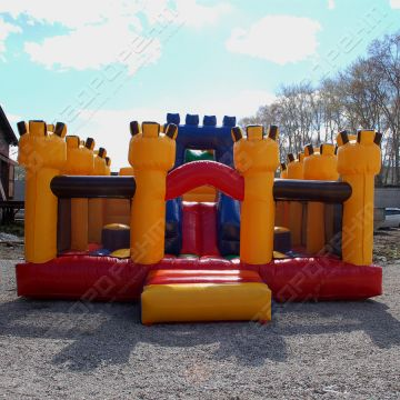 Фигура надувного батута «Замок дракона»