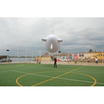 Воздушный рекламный дирижабль 6 метров