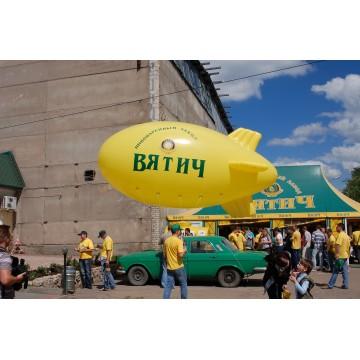 Воздушный рекламный дирижабль 5 метров