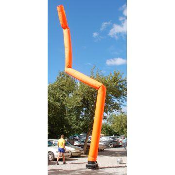 Возушная аэротруба оранжевого цвета 12 метров