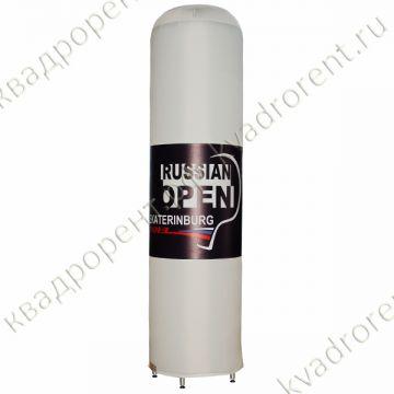 Пневмофигура надувная рекламная колонна