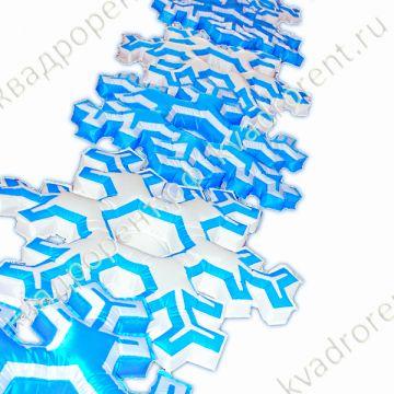 Надувная фигура Гирлянда Снежинка