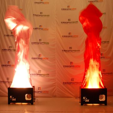 Имитация вечного огня