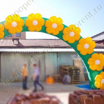 Надувная арка для декораций