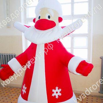 Надувная фигура Дед Мороз в красной шубе