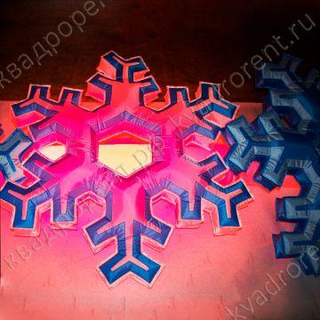 Надувная Снежинка