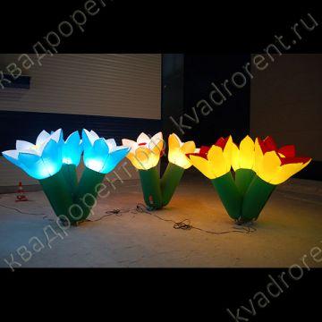 Надувные колокольчики с подсветкой