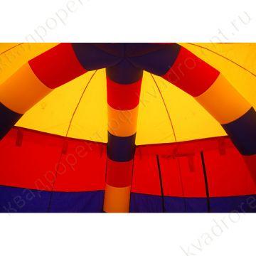 Палатка надувная пневмокаркасная разноцветная