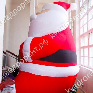 Надувная фигура Дед Мороз в красном