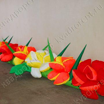 """Воздушная гирлянда """"Роза"""", 15 метров,2"""