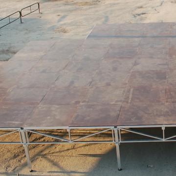 Сценический подиум фото сверху
