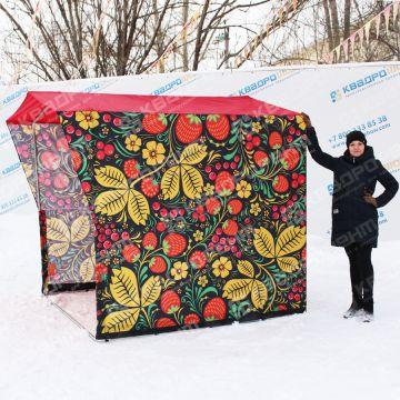 уличная торговая палатка на ярмарку