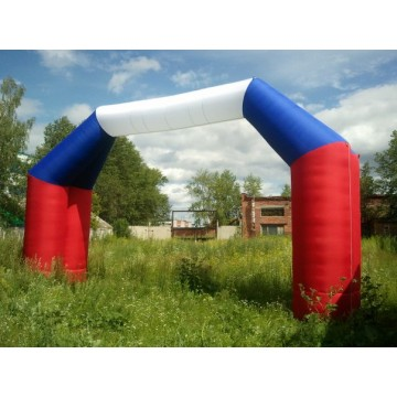 Пневмофигура арка триколор